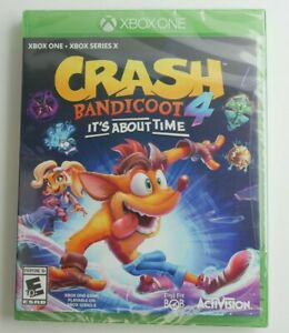 NEW CRASH BANDICOOT 4 ITS ABOUT TIME XBox One - SEALED NEVER OPENED