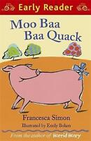 Simon, Francesca, Moo Baa Baa Quack (Early Reader), Very Good Book