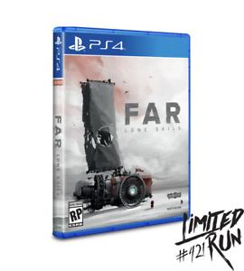 Far Lone Sails + Card Playstation 4 PS4 Limited Run #421 LRG 2000 WW New Sealed