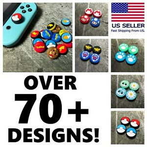 Joycon Analog Stick Paw Cover Caps - Nintendo Switch or Switch Lite Thumb Grips