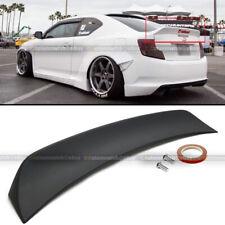 Fit 11-16 Scion Tc Rs Style Primer Black Abs Plastic Rear Trunk Wing Spoiler (Fits: Scion)