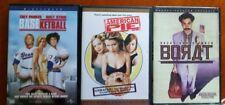 Dvd Movies Baseketball, American Pie, Borat Great Comedies