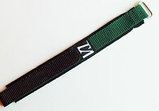 18mm nylon canvas watch strap
