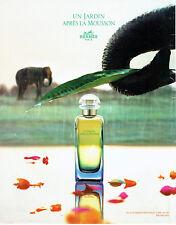 Publicité Advertising 018  2008  parfum Hermès un jardin après la Mousson
