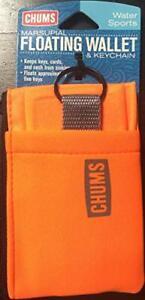 Chums Floating Marsupial Wallet Fluorescent Orange