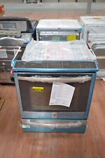 """Ge ProfilePhs920Sfss 30"""" Stainless Slide-in Electric Range Nob #25288 Clw"""