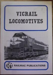 VICRAIL LOCOMOTIVES ..RAILMAC PUBLICATIONS GOOD COPY..16 PAGES..