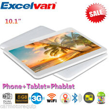 "10.1"" Pollici PC Tablet 2X SIM/CAM Android 8GB 3G Smartphone WIFI Cellulare BT"