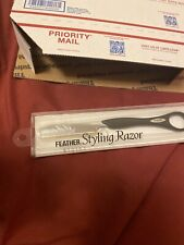 Jatai Feather Styling Razor SR-K Black #433030 1 Piece (NEW!)