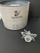 Swarovski Crystal Exquisite Accents-Orchid Light Yellow Figurine 7478000002 Mib