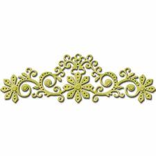 """Spellbinders Shapeabilities FLORAL Bloom s4-495 1 DIE 5 ⅝ X 1 3/4 """"Cut sbalzo stenci"""