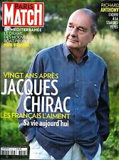 PARIS MATCH N°3440 23 AVRIL 2015 CHIRAC/ R.ANTHONY/ MIGRANTS/ CABREL/ KARDASHIAN