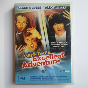 Bill & Ted's Excellent Adventure DVD - New & Sealed - Free Postage - Region 4