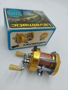 Vintage PENN Levelmatic 910 Bait Casting Reel In Box High Speed 4 lure tackle