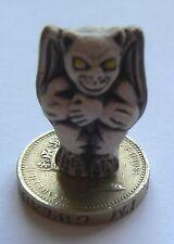 From Peru - Ceramic Focal 25 x 16 mm Bead - Grey Matt Gargoyle x 1 single bead