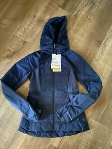Lululemon Down For it All Jacket True Navy NWT