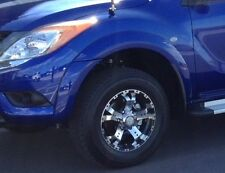 No Drill Flares for Mazda BT-50 2012 to April 2018 Painted Front Set