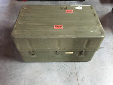 Military Green Metal Storage Case with 22 Drawers NICE!! Bug Out Case