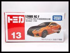 TOMICA #13 LEXUS RC F 1/59 TOMY 2015 JAN NEW MODEL DIECAST CAR ORANGE