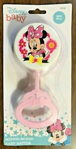 Minnie Mouse Disney Baby Rattle BPA Free