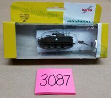 Herpa Minitanks M14 Panzer Spahwagen 740449 US Military Army Tank 253 Miniature