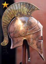New Medieval Corianthian Armor Helmet Viking Larp SCA Roleplay Helmet