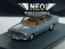 NEO Ford Taunus P6 Coupe, hellblau-met. - 1/87