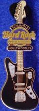Hard Rock Hotel HOLLYWOOD FL 2010 FENDER ERA Guitar PIN Black & White Jaguar HRH