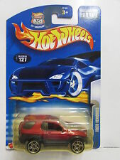 HOT WHEELS 2003 ISUZU VEHICROSS #127 RED