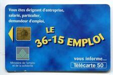 TELECARTE 50 36-15 EMPLOIS