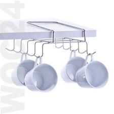 Tassenhalter Schrankhalter Halter Schrank Regal Henkel Tassen Kaffeetassen Chrom