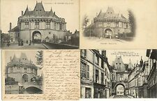 Lot 4 cartes postales anciennes VENDOME hôtel de ville