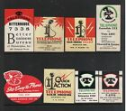 VINTAGE TELEPHONE POSTER STAMP COLLECTION