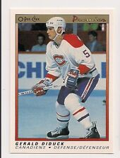 1990 OPC PREMIER #22 GERALD DIDUCK MONTREAL CANADIENS O-PEE-CHEE