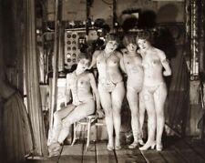 8x10 Print Ziegfeld Follies Showgirls Pin Up Nudes by James Abbe #ZF9