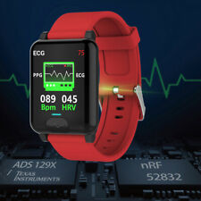Smart Watch PPG+ECG Blood Oxygen Pressure Heart Rate Body Temperature Monitor