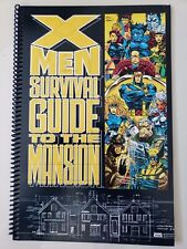 X-MEN : SURVIVAL GUIDE TO THE MANSION SPECIAL 1993 MARVEL COMICS 1ST PRINT!