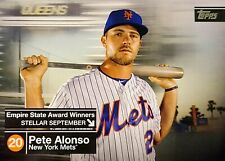 2020 Topps Series 2 Pete Alonso Empire State Awards Winners Set ----You Pick