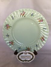 Minton ROSETTA GREEN Dinner Plate Bone China England