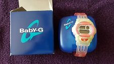 CASIO Pink Baby-G shock resistant  Watch Japan Vintage very Rare