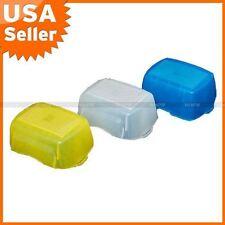 Blue+Yellow+White kit Flash Diffuser for NIKON SB-900