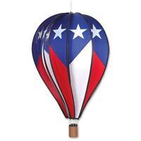 "26"" HOT AIR BALLOON-Patriotic Design- Wind Spinner by Premier Designs"