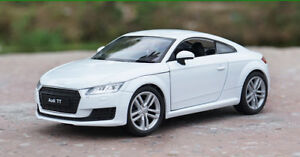 WELLY 1:24 Diecast Alloy Car Vehicles Display Model Boys Toys For Audi TT Coupe