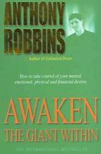 Awaken The Giant Within by Tony Robbins 9780743409384 | Brand New