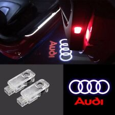 CREE LED Lamps Laser Projector Logo For AUDI Door Courtesy Puddle Shadow Lights