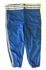 Vintage New Deadstock 70's Bike Baseball Pants Xl 38-40 Light Blue Gray Usa Made