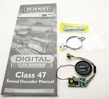 HORNBY DIGITAL CLASS 47 TTS SOUND DECODER AND SPEAKER *NEW*