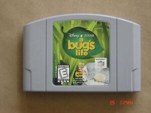 Video Game Cartridge Nintendo 64 Disney Pixar A Bug's Life
