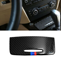 M Style Carbon Fiber Interior Cigarette Lighter Cover For BMW 3 series E90 05-12