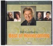 CD Bill Gaither's Best of Homecoming 2013. Nuevo. CCM